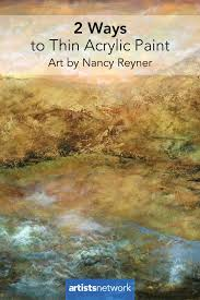 painting with acrylics for beginners nancy reyner artistsnetwork com