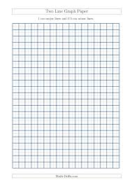 Two Line Graph Paper With 1 Cm Major Lines And 0 5 Cm Minor Lines