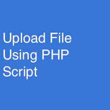 File Upload With Php Script Techflirt