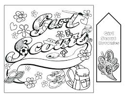 Coloring Daisy Girl Scout Law Coloring Pages Collection Of I Am A