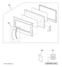 Ge microwave parts model jvm1540dm5ww sears partsdirect door parts leeyfo image collections
