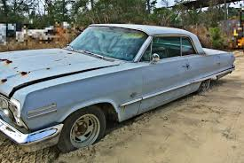 1963 Chevrolet Impala 2 Door Coupe 2 Speed Powerglide Chevy Project