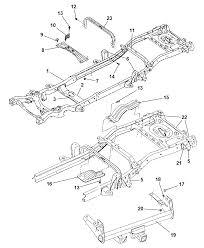 2000 dodge dakota frame diagram 00i40183