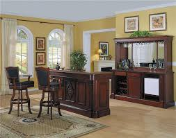 at home bar furniture. Monticello Home Bar Set In Cherry Finish At Furniture