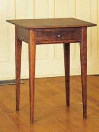 Cherry Moon Asian Stool Handcrafted by Vermont furniture makers