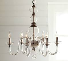 blown glass chandelier pottery barn with regard to amazing household chandelier blown glass designs