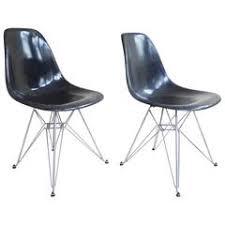 eames eiffel fiberglass side chair. charles and ray eames dsr fiberglass side chairs \ eiffel chair