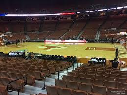 Frank Erwin Center Section 37 Texas Basketball