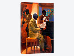 piano man by keith mallett 1 piece canvas print