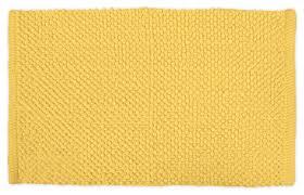 dii yellow popcorn rug