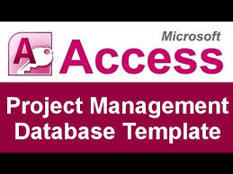 Project Management In Access Microsoft Access Project Management Database Template