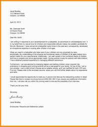 Reference Letter Sample For Babysitter Job Mamiihondenk Mla Format
