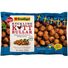 When it was time to modernize the weight price labeling systems, kronfågel selected teltek dynamic. Kronfagel Chicken Meatballs 600g Mrmeatball