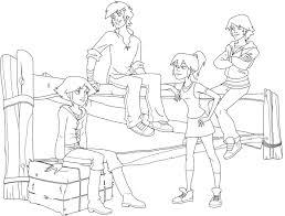 Coloriages Et Pliages Le Ranch Gratuits Jeunesse Tv5monde Coloriage Dessin Anime Le Ranch L