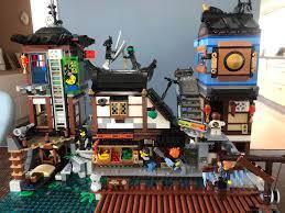 Ninjago city docks is an amazing display set! : Ninjago