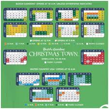 Busch Gardens Williamsburg Attendance Chart Busch Gardens Williamsburg 2018 Calendar Garden And Modern