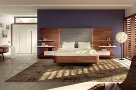 image of wall mounted wood headboards shelf