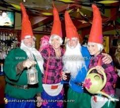 coolest homemade gnome group costume 10 21296295 jpg