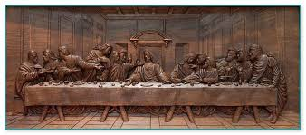 on large last supper wall art with last supper sculpture wall art
