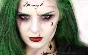 female joker makeup