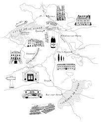 Black And White Illustrated Maps
