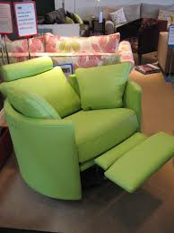 This Zingy Lime Green Leather Was A Huge Success On Our