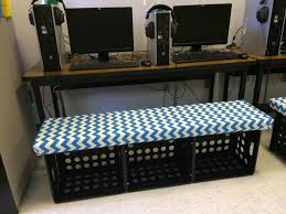 how to diy crate benches