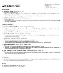 Harvard Resume Template How To Resume Format Resume Samples