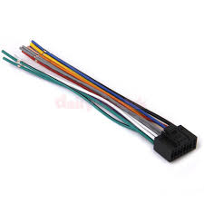 16 pin connector car radio stereo wire harness plug cable cord for 16 pin connector car radio stereo wire harness plug cable cord for kenwood 2 2 of 8