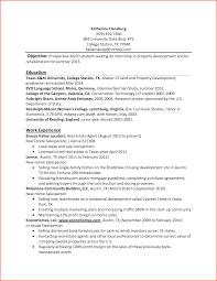 Cover Letter Sample Internship Resume Sample Internship Resume For