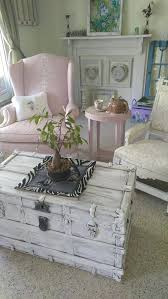 shabby chic trunk coffee table vintage shabby chic coffee table with storage