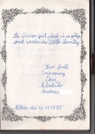 Aus Dem Poesiealbum Meikes Bunte Welt Ganzes Poesiealbum Sprüche