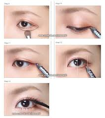 tutorial look the past makeup natural natural just line look your corners a bit extending korean