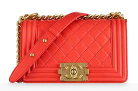 chanel inspired bags. chanel-boy-bag-coral-4300 chanel inspired bags n