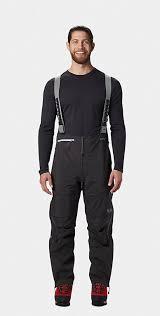 Mountain Hardwear Exposure 2 Gore Tex Pro Bib Pant S Void