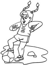 Small Picture Soccer Player ColoringPage You Can Print Out This Soccer