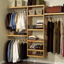 John Louis Home Collection Honey Maple Deluxe Closet System - Free Shipping  Today - Overstock.com - 11052322