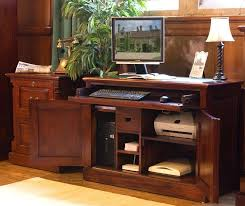 wood home office desks.  Office Mahogany Computer Desks For Home Office Wood Image Of Rustic  Solid Desk Throughout U