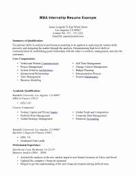 Mba Graduate Resume Examples 24 Unique Gallery Of Resume Format For Mba Student Resume Concept 4