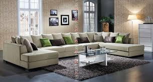 latest design sofa set beige linen