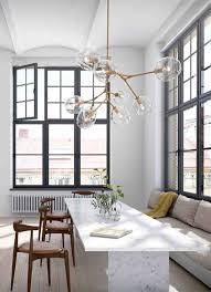 Eettafel Houten Lamp Boven Langwerpige Terrific Tafel Hout Glazen