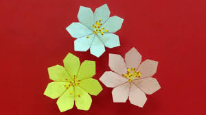 Paper Origami Flower Making Tissue Paper Flower Making Step By Step Dailymotion Flowers Healthy