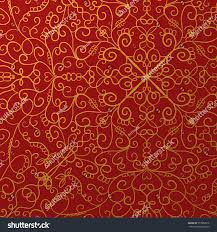 Fancy Background Design Fancy Red Background Gold Ornate Design Stock Illustration 357982019