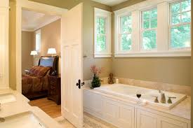 master bedroom with bathroom. Bed And Bathroom Suite Master Bedroom With R