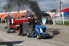 view larger image garden tractor pull starts on the racetrack at markham fair on sunday october 1 2017