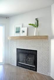 Tile Fireplace Makeover Diy Fireplace Makeover Centsational Girl Bloglovin