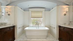white brown and grey bathroom