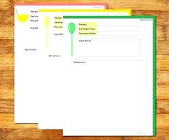 Full Page Recipe Templates Printable Recipe Book Template Blank Cards Recipes By A Card