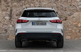 Gla 250 and gla 250 4matic standard features include: Wallpaper Mercedes Benz Rear View Crossover Gla 4matic Gla Class 2020 Amg Line Gla 250 Images For Desktop Section Mercedes Download