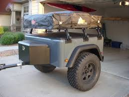 how to build a jeep trailer step the final build step is outing common setup is a roof top tent and tongue box